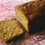 2) cake à la courge butternut