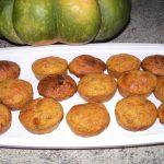 6) mini muffins au potiron et abricots secs