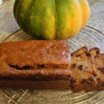 3) cake moelleux au potiron,  épices et pépites de chocolat